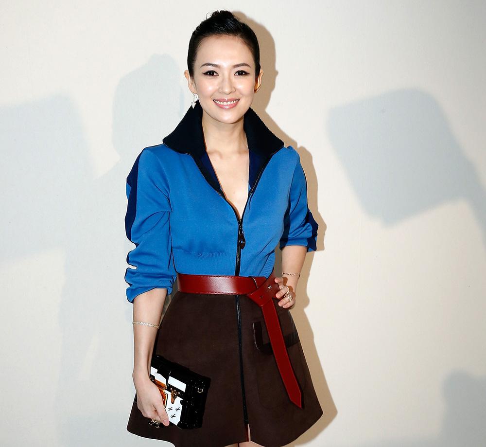 Zhang Ziyi Louis Vuitton Petite-Malle Bag