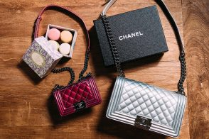 Mother Daughter Pairs: Chanel Boy Bags
