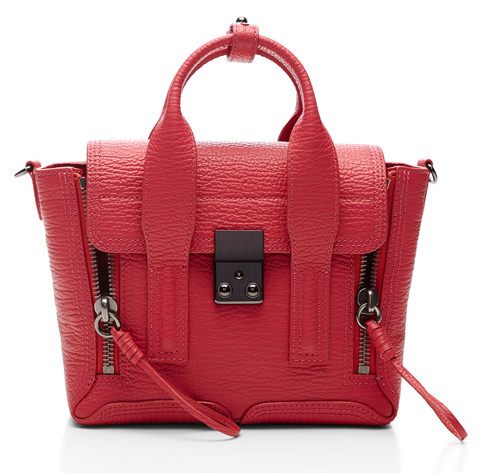 3.1 Phillip Lim Mini Pashli Bag Red