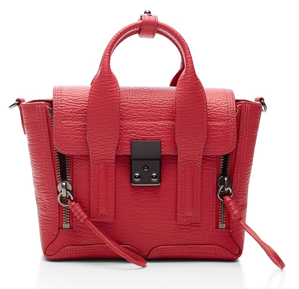 3.1 Phillip Lim Mini Pashli Bag Red