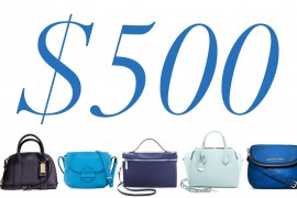 5 Under $500: A Blue Bag for Every Mood