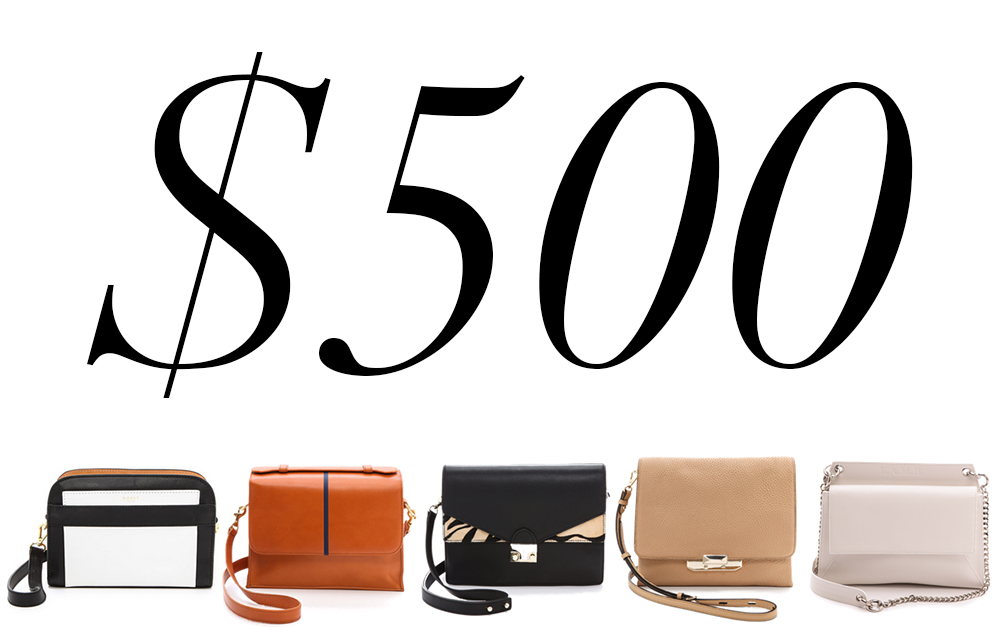 5 Under $500 Neutral Shoulder Bags
