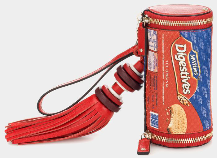 Anya Hindmarch Digestives Clutch