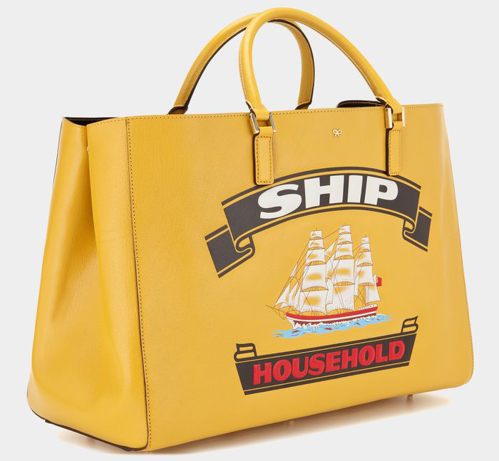 Anya Hindmarch Ebury Maxi Featherweight Ship Household Tote