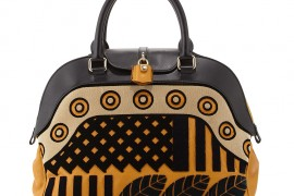 Burberry Padlock Dome Satchel