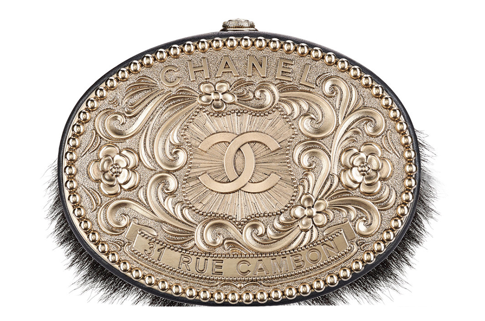 Chanel Belt Buckle Minaudiere