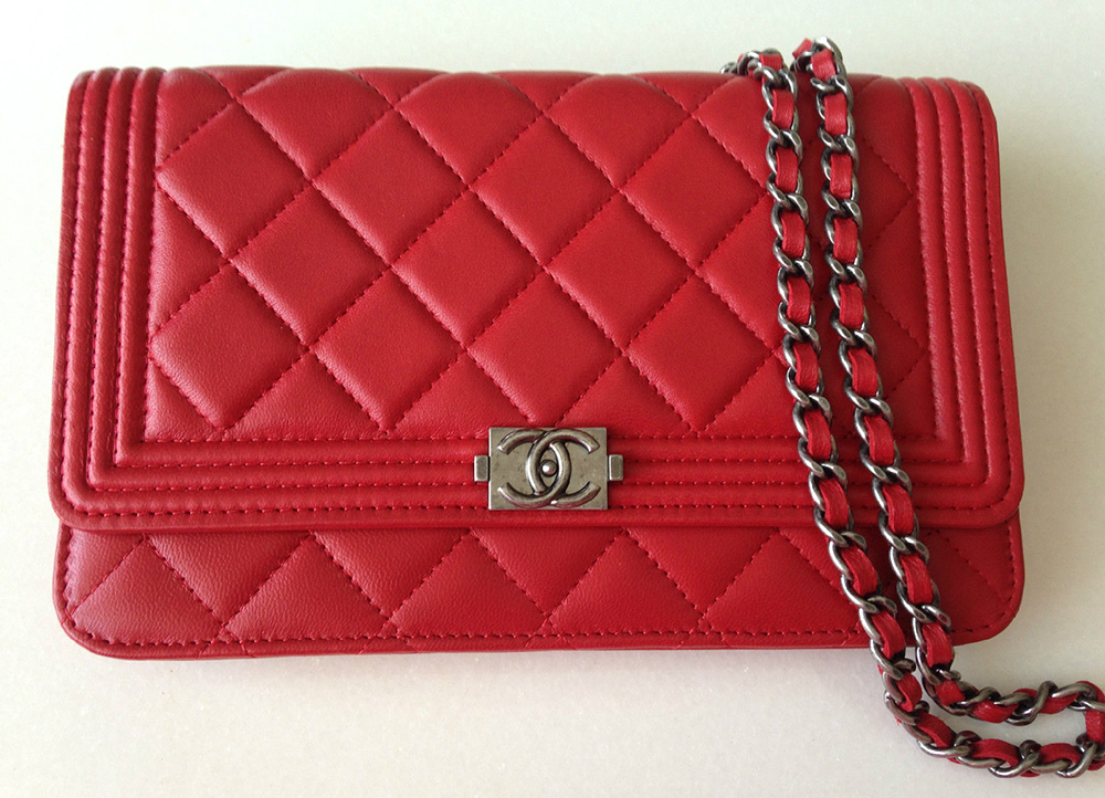 Chanel Boy Wallet on Chain Bag