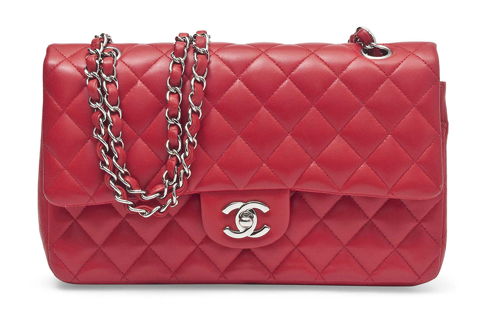 Chanel Classic Double Flap Bag Scarlet