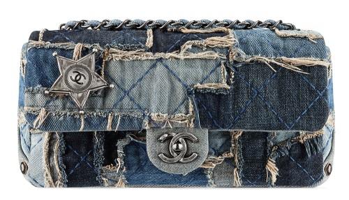 2229e6a77402 Chanel Denim Patchwork Flap Bag - PurseBlog