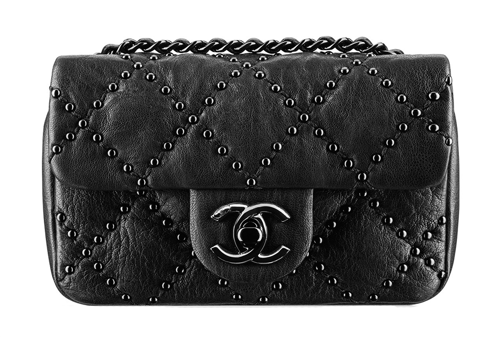Chanel Mini Studded Flap Bag