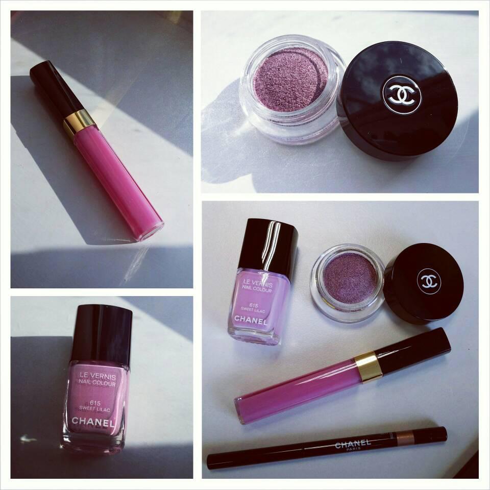 Chanel Pink Cosmetics