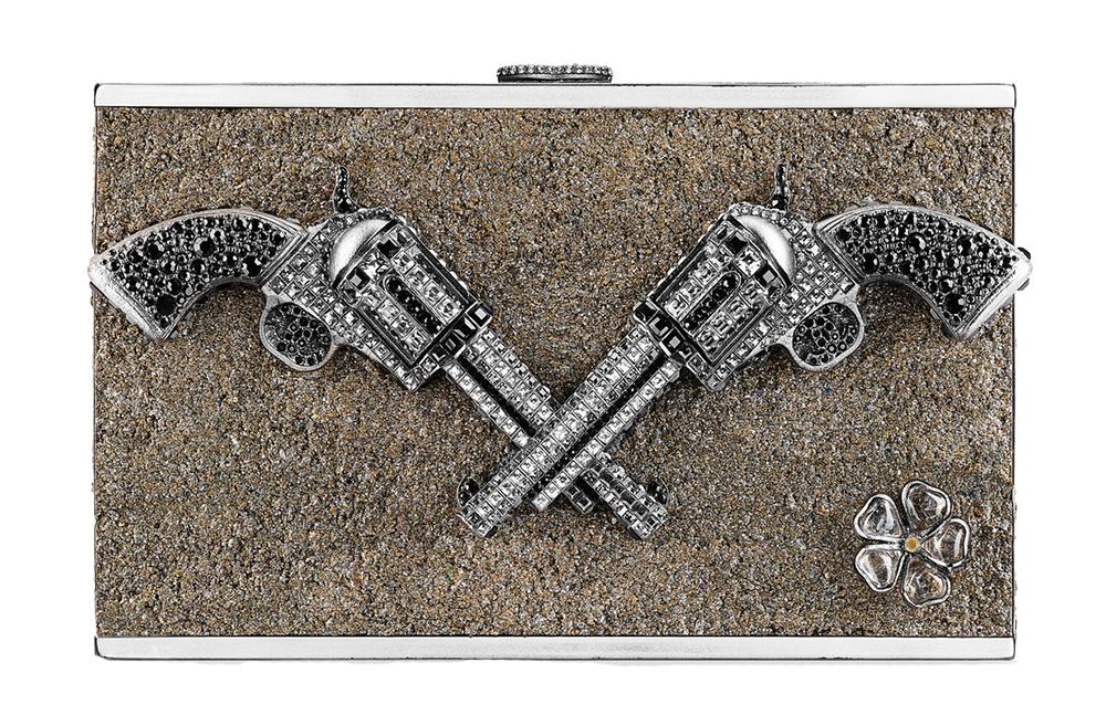 Chanel Strass Pistol Minaudiere