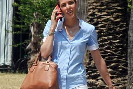Charlotte Casiraghi Leaves an Equestrian Event with a Gucci Bag on Her Arm