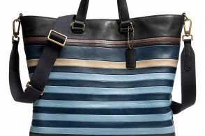 Man Bag Monday: Coach Bleecker Bar Stripe Day Tote