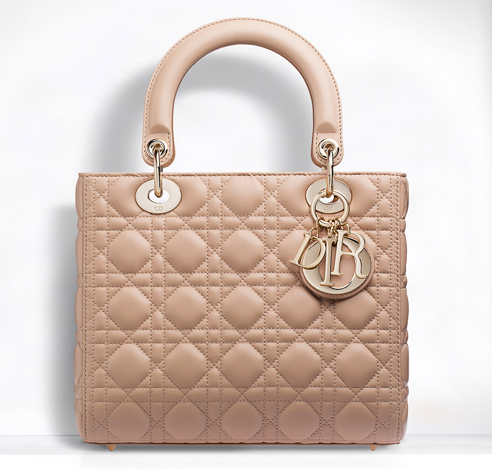 Totally Underrated  The Christian Dior Lady Dior Bag - PurseBlog 8c3a1859ee17c