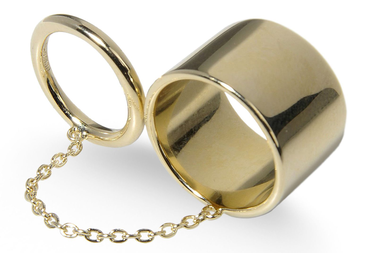 Elizabeth and James Double Ring