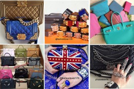 Instagram Handbag Celebrities: @fashionlover178