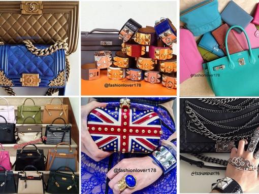 Instagram Handbag Celebrities: @fashionlover178