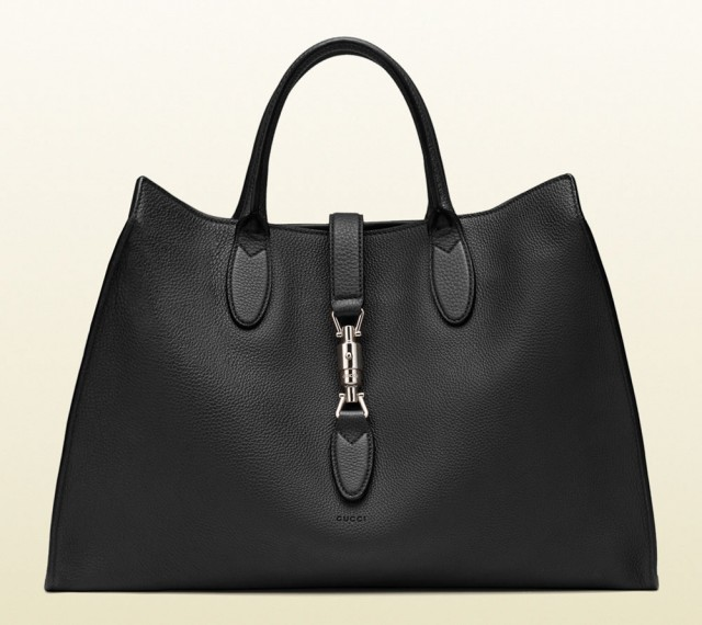 Gucci Jackie Soft Tote Black