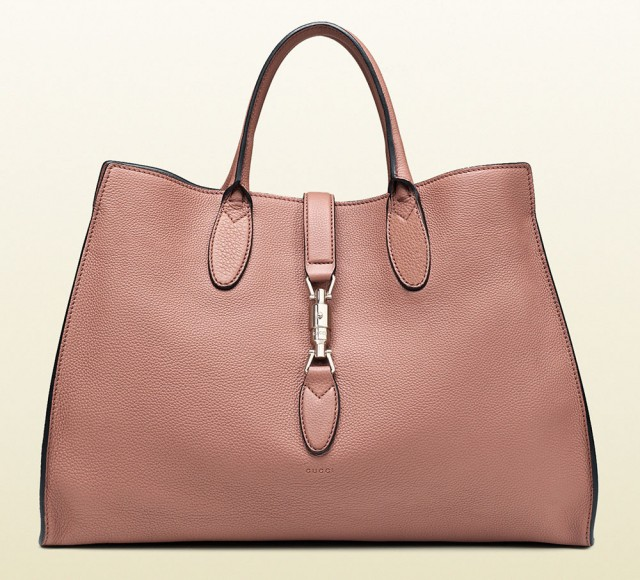 Gucci Jackie Soft Tote Pink