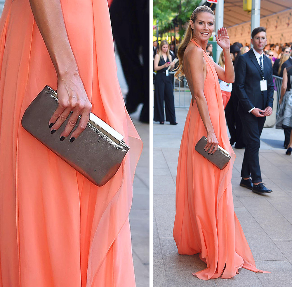 Heidi Klum Jimmy Choo Clutch