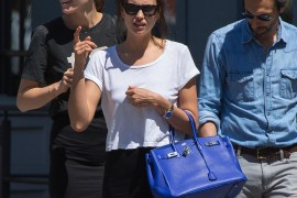 Irina Shayk Beats the New York Heat with an Hermes Birkin