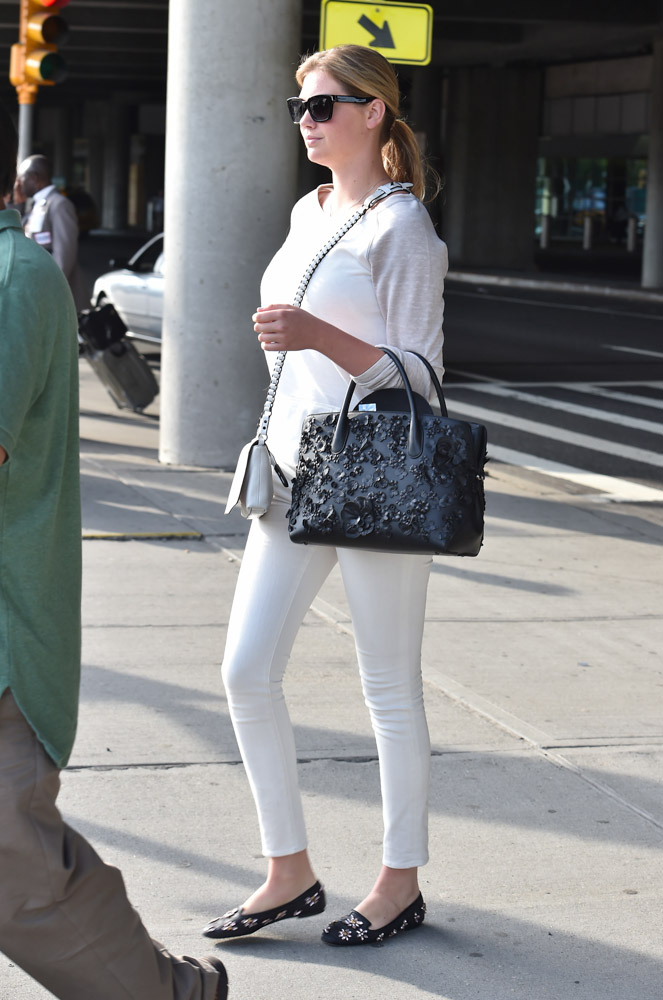 Kate Upton Dior Bar Bag Rag and Bone Enfield Mini Bag-4