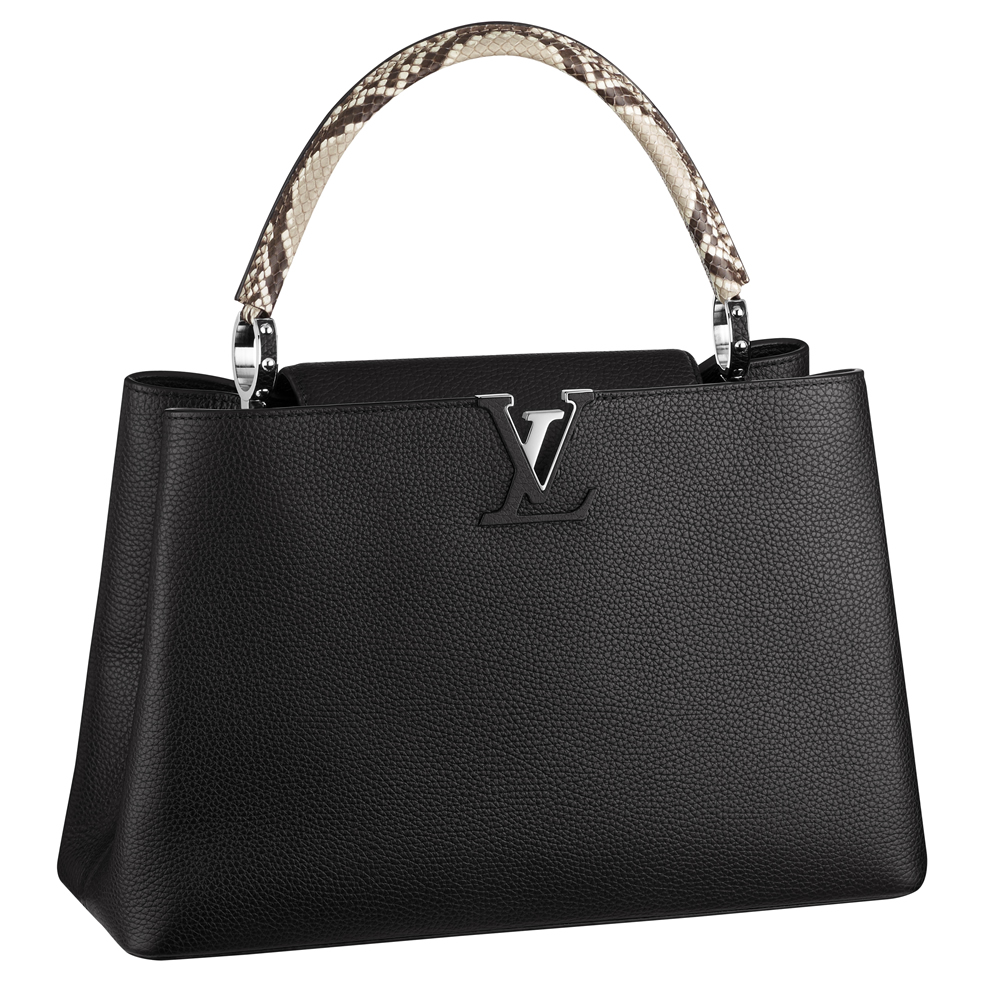 8f8cddaeeffb The Stunning Louis Vuitton Capucines - PurseBlog