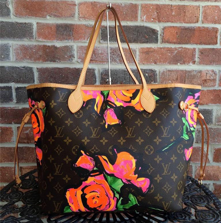 Louis Vuitton Stephen Sprouse Floral Neverfull Bag