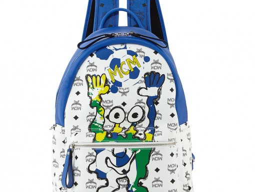 MCM München Cute Monsters Soccer Special Edition Backpack