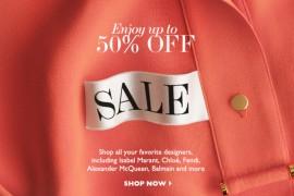 The Net-a-Porter International Sale is On!