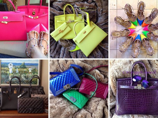 Instagram's Handbag Celebrities: @orangekissed