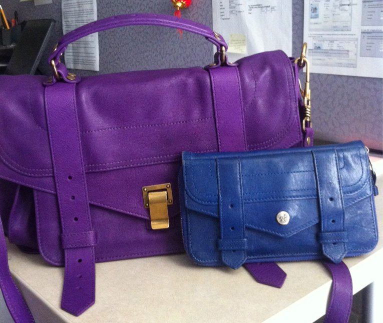Proenza Schouler PS1 and Wallet