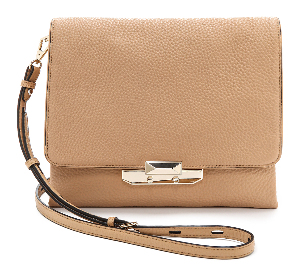 Rebecca Minkoff Leo Flat Shoulder Bag