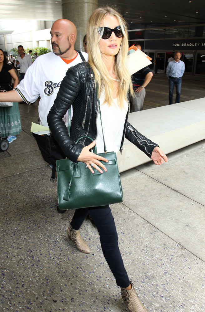 Rosie Huntington-Whiteley Saint Laurent Sac de Jour Tote-3