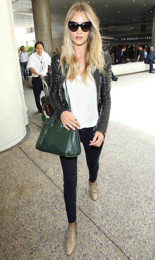 Rosie Huntington-Whiteley Saint Laurent Sac de Jour Tote-4