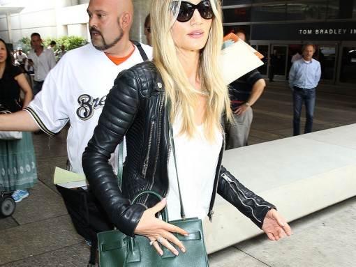 Rosie Huntington-Whiteley Saint Laurent Sac de Jour Tote