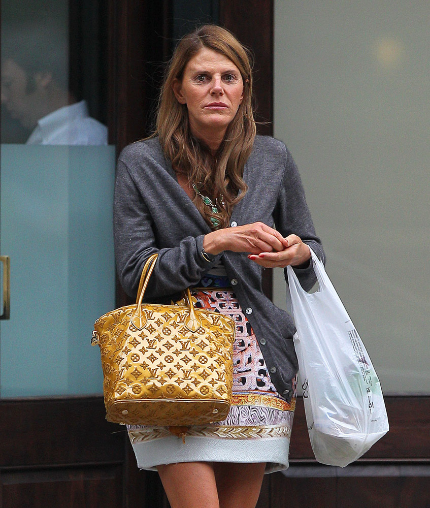 The Many Bags of Anna Dello Russo-1