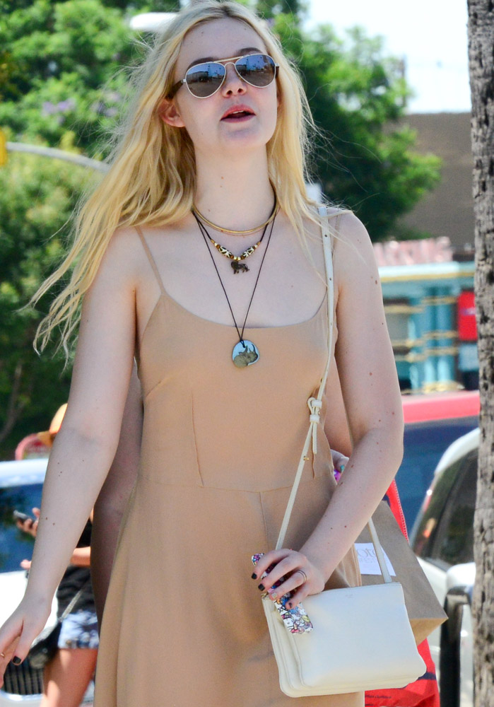 The Many Bags of Dakota and Elle Fanning-15