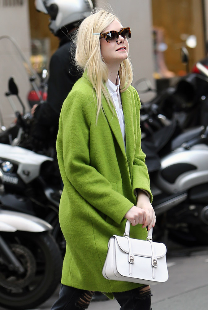 The Many Bags of Dakota and Elle Fanning-25