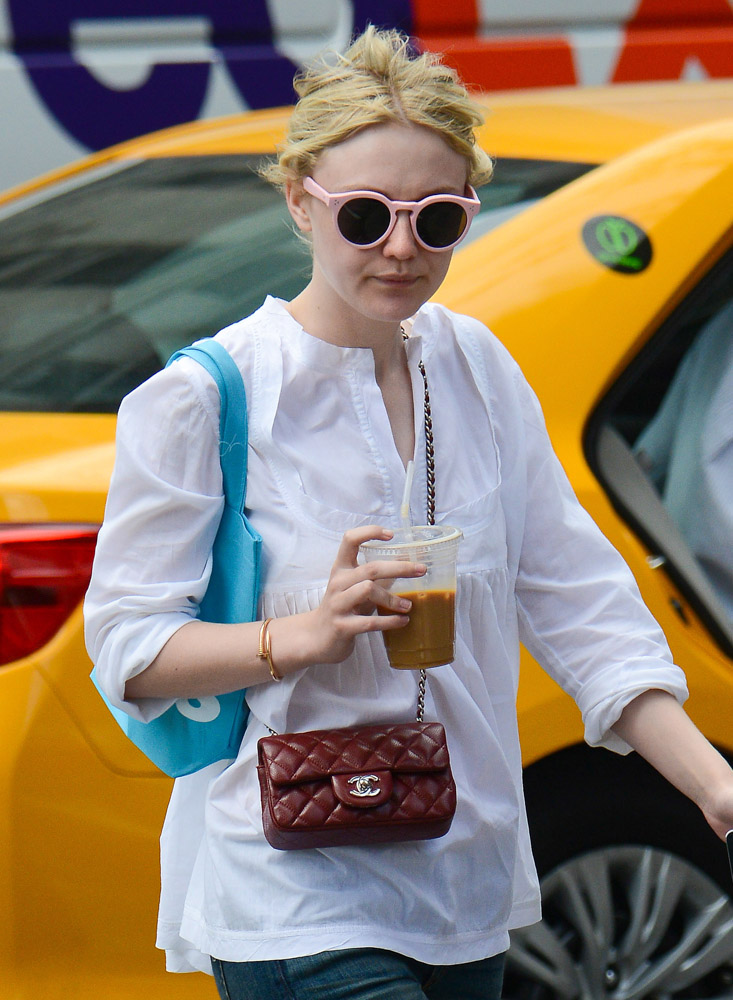 The Many Bags of Dakota and Elle Fanning-29