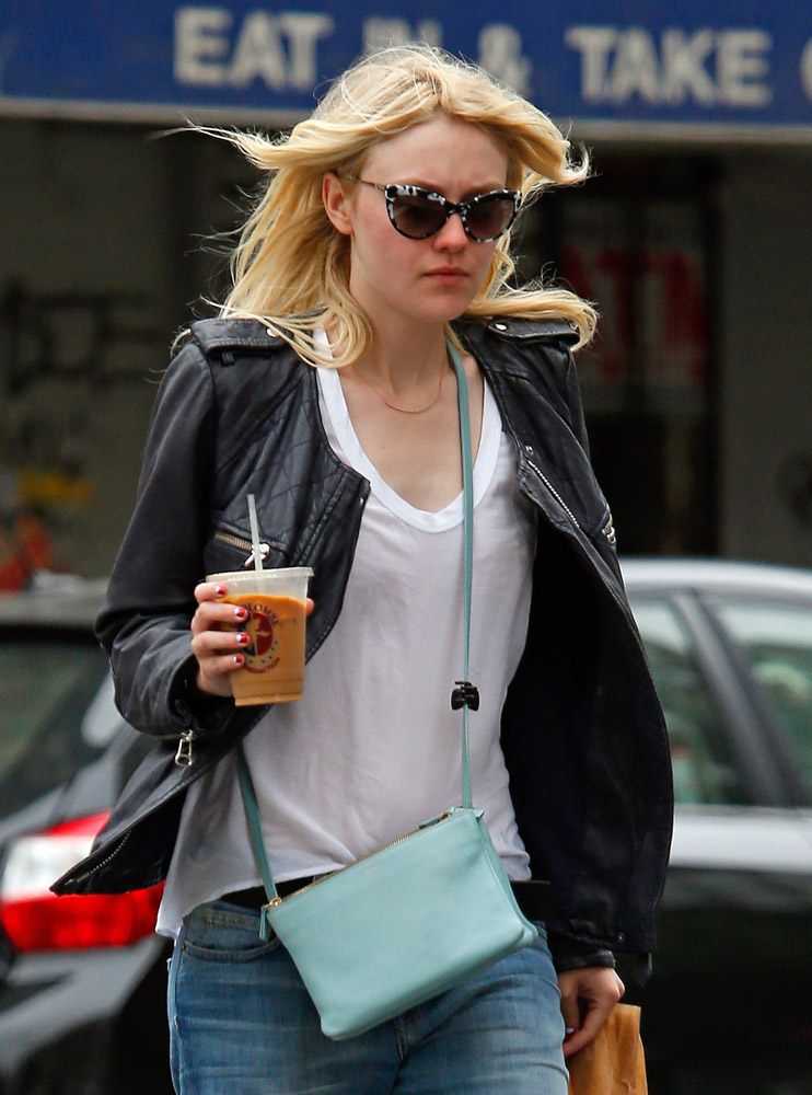 The Many Bags of Dakota and Elle Fanning-31