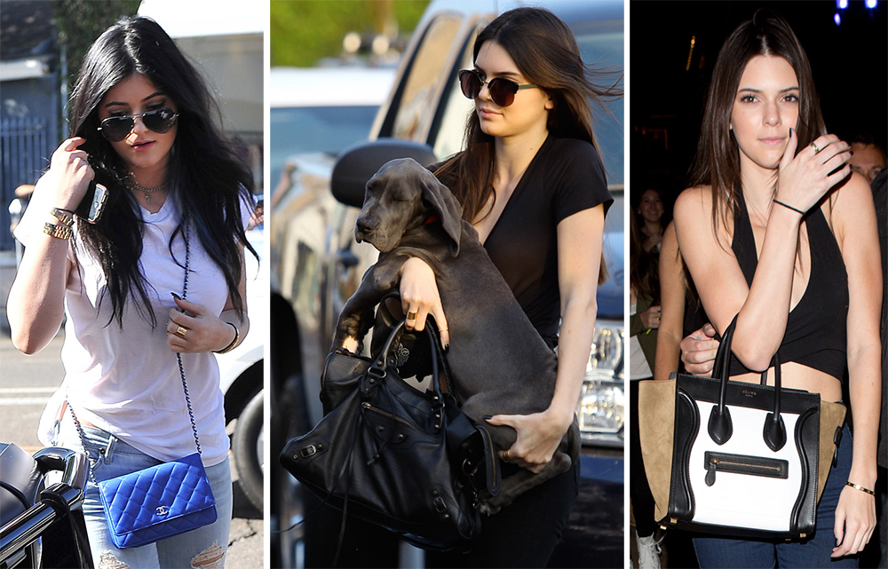 87c9800169d The Many Bags of Kylie and Kendall Jenner - PurseBlog