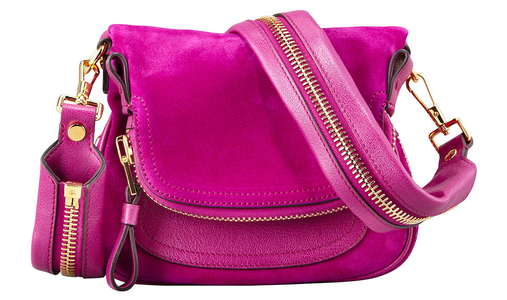 Tom Ford Jennifer Suede Mini Crossbody Bag