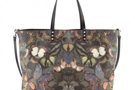 Bag of the Week: Valentino Butterfly Camouflage Easy Tote