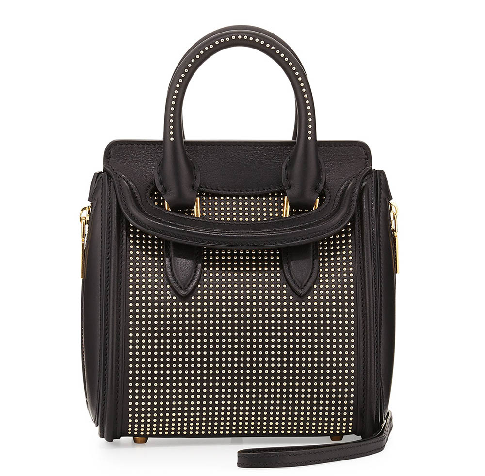 Alexander McQueen Mini Heroine Studded Bag