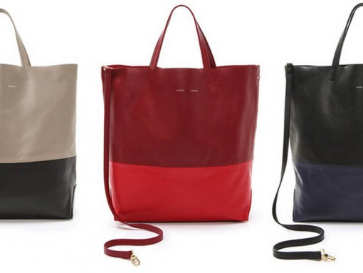 Alice.D Leather Tote Bags