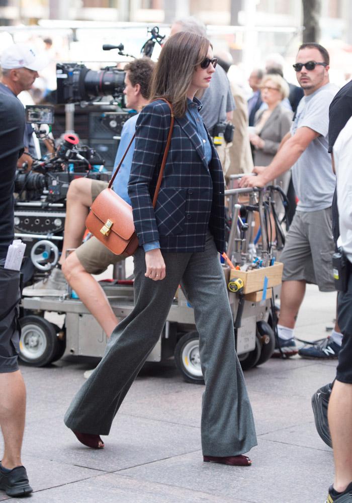 Anne Hathaway Celine Classic Box Bag-1
