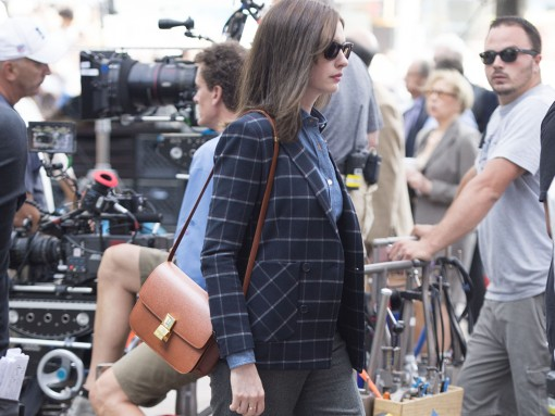Anne Hathaway Celine Classic Box Bag