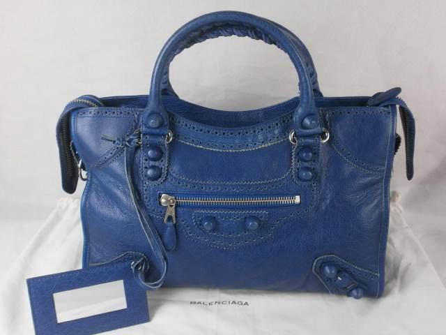 Balenciaga Brogues City Bag